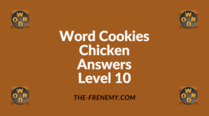 Word Cookies Chicken Level 10 Answers