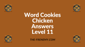 Word Cookies Chicken Level 11 Answers