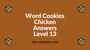 Word Cookies Chicken Level 13 Answers