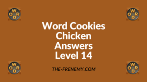 Word Cookies Chicken Level 14 Answers