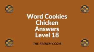 Word Cookies Chicken Level 18 Answers