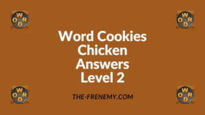 Word Cookies Chicken Level 2 Answers