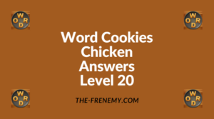 Word Cookies Chicken Level 20 Answers