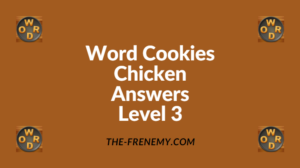Word Cookies Chicken Level 3 Answers