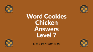 Word Cookies Chicken Level 7 Answers