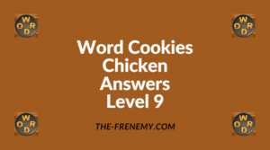 Word Cookies Chicken Level 9 Answers