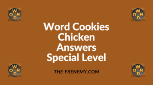 Word Cookies Chicken Special Level Answers