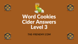 Word Cookies Cider Answers Level 3Word Cookies Cider Answers Level 3