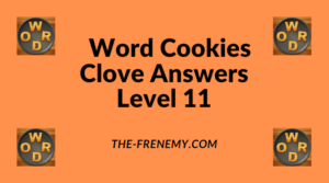Word Cookies Clove Level 11 Answers