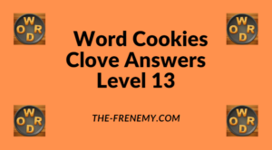 Word Cookies Clove Level 13 Answers