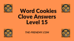 Word Cookies Clove Level 15 Answers