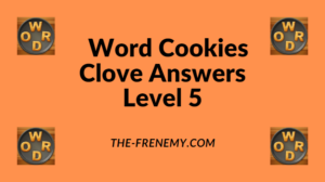 Word Cookies Clove Level 5 Answers
