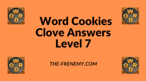 Word Cookies Clove Level 7 Answers
