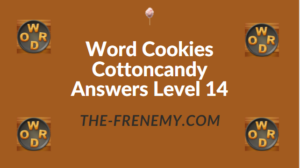 Word Cookies Cottoncandy Answers Level 14