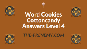 Word Cookies Cottoncandy Answers Level 4