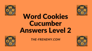 Word Cookies Cucumber Level 2 Answers
