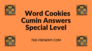 Word Cookies Cumin Special Level Answers