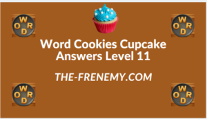 Word Cookies Cupcake Level 11 Answers