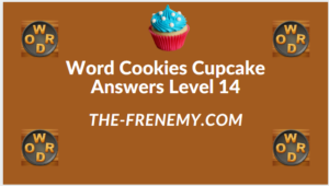 Word Cookies Cupcake Level 14 Answers
