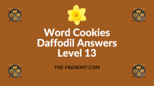 Word Cookies Daffodil Level 13 Answers