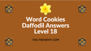 Word Cookies Daffodil Level 18 Answers