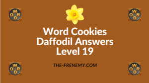 Word Cookies Daffodil Level 19 Answers