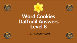 Word Cookies Daffodil Level 8 Answers