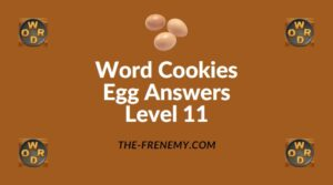 Word Cookies Egg Answers Level 11