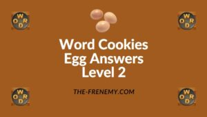 Word Cookies Egg Answers Level 2