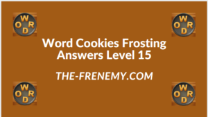 Word Cookies Forsting Level 15 Answers