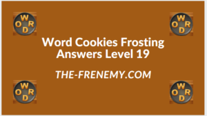 Word Cookies Forsting Level 19 Answers