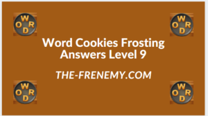 Word Cookies Forsting Level 9 Answers