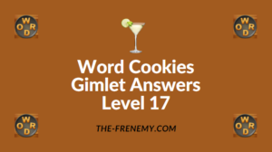 Word Cookies Gimlet Answers Level 17