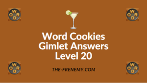 Word Cookies Gimlet Answers Level 20