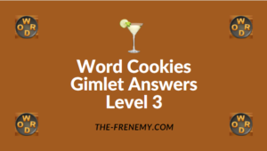 Word Cookies Gimlet Answers Level 3