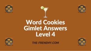Word Cookies Gimlet Answers Level 4