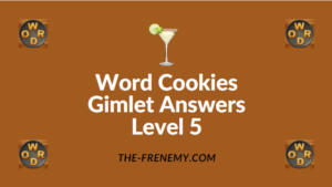 Word Cookies Gimlet Answers Level 5