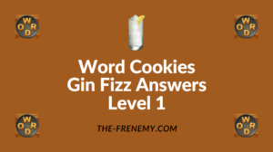 Word Cookies Gin Fizz Answers Level 1