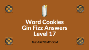 Word Cookies Gin Fizz Answers Level 17