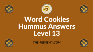Word Cookies Hummus Answers Level 13