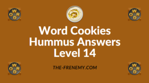 Word Cookies Hummus Answers Level 14