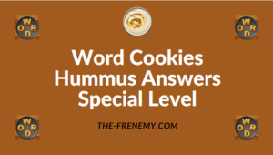 Word Cookies Hummus Answers Special Level