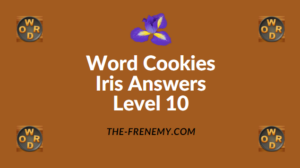 Word Cookies Iris Level 10 Answers