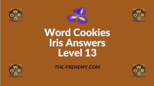 Word Cookies Iris Level 13 Answers