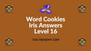 Word Cookies Iris Level 16 Answers