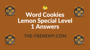Word Cookies Lemon Special Level 1 Answers