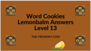 Word Cookies Lemonbalm Level 13 Answers