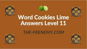 Word Cookies Lime Answers Level 11