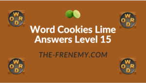 Word Cookies Lime Answers Level 15