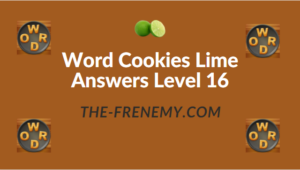 Word Cookies Lime Answers Level 16